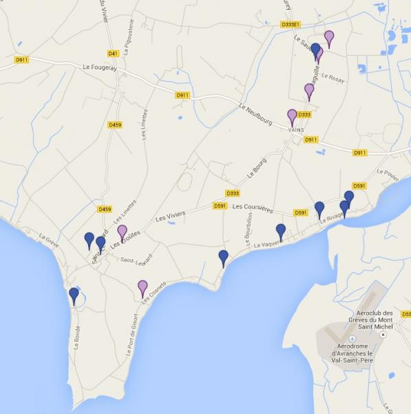 Carte situation conseillers